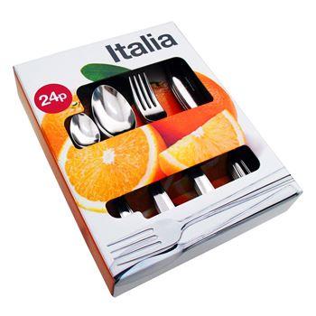Slika za 61125516 ITALIA SET ESCAJGA INOX 24PCS