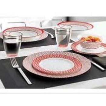 Slika za J7844 TEMPERED BATTUTO 19PC TABLEWARE