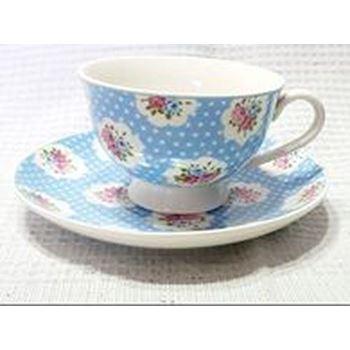 Slika za L-002 SET SOLJA KERAMIKA 6PCS/BLUE